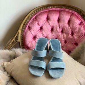 Blue Summer Zara Heels